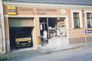 Bäckerei Schneider in alten Zeiten